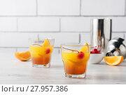 Купить «Fresh home made Mai Tai cocktails», фото № 27957386, снято 20 августа 2018 г. (c) PantherMedia / Фотобанк Лори