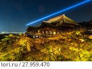 Купить «Kiyomizu-dera Temple», фото № 27959470, снято 20 июля 2019 г. (c) PantherMedia / Фотобанк Лори