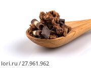 Купить «muesli with pieces of chocolate», фото № 27961962, снято 22 августа 2018 г. (c) PantherMedia / Фотобанк Лори