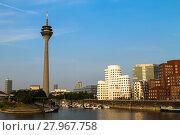 Купить «city of düsseldorf in north rhine-westphalia,germany.», фото № 27967758, снято 25 мая 2019 г. (c) PantherMedia / Фотобанк Лори