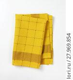 Купить «checkered dish towel», фото № 27969854, снято 19 февраля 2018 г. (c) PantherMedia / Фотобанк Лори