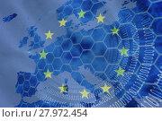 Купить «European Union», фото № 27972454, снято 20 июня 2019 г. (c) Wavebreak Media / Фотобанк Лори