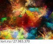 Купить «Illusion of Space Nebula», фото № 27983370, снято 20 июля 2018 г. (c) PantherMedia / Фотобанк Лори