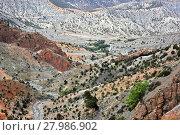 Купить «Landscape view of high Atlas Mountains, Morocco», фото № 27986902, снято 19 февраля 2018 г. (c) PantherMedia / Фотобанк Лори
