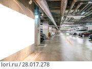 Купить «Parking garage underground», фото № 28017278, снято 10 апреля 2020 г. (c) PantherMedia / Фотобанк Лори