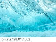 Купить «Ice wall texture», фото № 28017302, снято 26 марта 2019 г. (c) PantherMedia / Фотобанк Лори