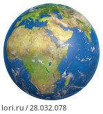 Купить «earth isolated», фото № 28032078, снято 21 июня 2019 г. (c) PantherMedia / Фотобанк Лори