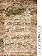 Купить «red texture stone wall brick», фото № 28043062, снято 21 марта 2019 г. (c) PantherMedia / Фотобанк Лори