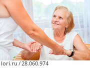Купить «Providing care and support for elderly», фото № 28060974, снято 6 января 2019 г. (c) easy Fotostock / Фотобанк Лори