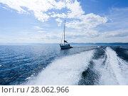 Купить «The great lake Baikal, Russia», фото № 28062966, снято 18 июня 2019 г. (c) Ольга Сизова / Фотобанк Лори