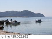 Купить «The great lake Baikal, Russia», фото № 28062982, снято 18 июня 2019 г. (c) Ольга Сизова / Фотобанк Лори