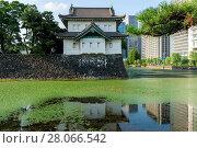 Kikyomon gate in tokyo. Стоковое фото, фотограф Zoonar/I.Choi / easy Fotostock / Фотобанк Лори