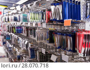 Купить «Image of variety ocean fishing lures in the sports shop», фото № 28070718, снято 16 января 2018 г. (c) Яков Филимонов / Фотобанк Лори