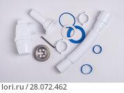 siphon for sinks. Стоковое фото, фотограф Myroslav Kuchynskyi / Фотобанк Лори