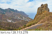 Купить «Beautiful view of coast in Tenerife», фото № 28113278, снято 9 декабря 2017 г. (c) Роман Сигаев / Фотобанк Лори