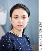 Купить «Portrait of young girl», фото № 28139254, снято 9 апреля 2017 г. (c) Яков Филимонов / Фотобанк Лори