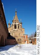 Купить «Крутицкое подворье в Москве зимним днем», фото № 28162302, снято 27 февраля 2018 г. (c) Natalya Sidorova / Фотобанк Лори