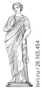 Купить «Mnemosyne, the personification of memory in Greek mythology.», фото № 28165454, снято 5 января 2018 г. (c) age Fotostock / Фотобанк Лори