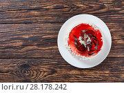 Купить «torte layered with mousse and jelly», фото № 28178242, снято 3 марта 2018 г. (c) Oksana Zh / Фотобанк Лори