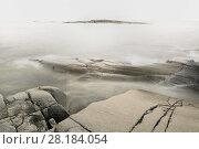 Купить «Small rocky islands or skerries,  Stockholm Archipelago, Sweden, August.», фото № 28184054, снято 24 сентября 2018 г. (c) Nature Picture Library / Фотобанк Лори