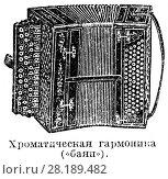 Купить «Хроматическая гармоника (баян)», иллюстрация № 28189482 (c) Макаров Алексей / Фотобанк Лори