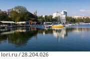 Купить «Port of Constanta, Romania», фото № 28204026, снято 20 сентября 2017 г. (c) Яков Филимонов / Фотобанк Лори