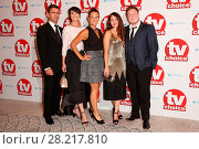 Купить «The TV Choice Awards 2016 held at the Dorchester - Arrivals Featuring: Scott Maslen, Emma Barton, Luisa Bradshaw-White, Lacey Turner, Riley Carter Millington...», фото № 28217810, снято 5 сентября 2016 г. (c) age Fotostock / Фотобанк Лори