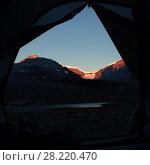 Купить «Snow capped mountain on a sunny day», фото № 28220470, снято 18 марта 2019 г. (c) Wavebreak Media / Фотобанк Лори