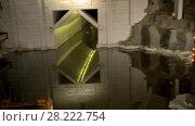 Купить «Wieliczka Salt Mine in southern Poland», видеоролик № 28222754, снято 9 августа 2017 г. (c) BestPhotoStudio / Фотобанк Лори