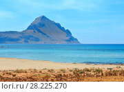 Купить «Santa Margherita Beach, Macari, Sicily, Italy», фото № 28225270, снято 16 июня 2017 г. (c) Юрий Брыкайло / Фотобанк Лори