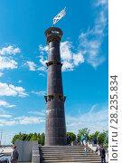 Купить «Башня-маяк в парке 300-летия Санкт-Петербурга», эксклюзивное фото № 28235834, снято 25 июня 2017 г. (c) Александр Щепин / Фотобанк Лори