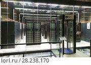 Купить «Equipment of Barcelona Supercomputing Center», фото № 28238170, снято 16 января 2018 г. (c) Яков Филимонов / Фотобанк Лори