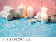 Купить «Beautiful composition of spa», фото № 28247082, снято 22 марта 2018 г. (c) Типляшина Евгения / Фотобанк Лори