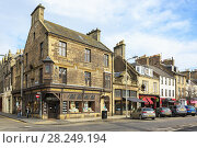 Купить «18th century building of historical importance at the junction of South Street and Church Street, St Andrews, Fife, Scotland.», фото № 28249194, снято 14 марта 2018 г. (c) age Fotostock / Фотобанк Лори