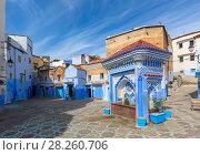 Купить «Public fountain in medina of Chefchaouen», фото № 28260706, снято 18 февраля 2018 г. (c) Михаил Коханчиков / Фотобанк Лори