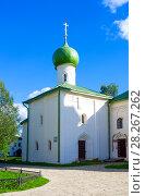 Купить «Kirillo-Belozersky monastery near City Kirillov, Vologda region, Russia», фото № 28267262, снято 13 августа 2016 г. (c) Papoyan Irina / Фотобанк Лори