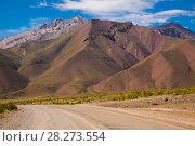 Купить «Andes near Las Lenas», фото № 28273554, снято 9 февраля 2017 г. (c) Яков Филимонов / Фотобанк Лори