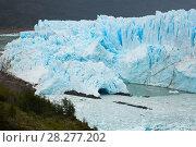 Купить «Glacier Perito Moreno and mountains», фото № 28277202, снято 2 февраля 2017 г. (c) Яков Филимонов / Фотобанк Лори
