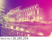Купить «Court of Apparel, Bucharest, Romania», фото № 28280254, снято 19 сентября 2017 г. (c) Яков Филимонов / Фотобанк Лори