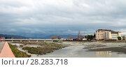 Река Мзымта. Адлер (2018 год). Стоковое фото, фотограф Владимир Макеев / Фотобанк Лори