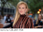 Купить «Actors attends a premiere for 'Lion' for the annual Toronto Film Festival (TIFF), in Toronto, Canada. Featuring: Nicole Kidman Where: Toronto, Canada When: 10 Sep 2016 Credit: Euan Cherry/WENN.com», фото № 28287154, снято 10 сентября 2016 г. (c) age Fotostock / Фотобанк Лори