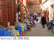 Купить «Spice Market, Souk, Mellah (Old Jewish Quarter), Marrakesh (Marrakech), Morocco, North Africa, Africa», фото № 28308062, снято 28 марта 2017 г. (c) age Fotostock / Фотобанк Лори
