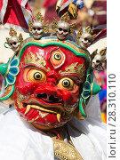 Купить «Buddist Mask Festival. Liker Monastery, Liker, Ladakh, India. February 2017.», фото № 28310110, снято 23 мая 2019 г. (c) Nature Picture Library / Фотобанк Лори