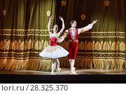 """Купить «Солисты балета """"Коппелия"""" на Новой сцене Большого театра», фото № 28325370, снято 21 апреля 2018 г. (c) Victoria Demidova / Фотобанк Лори"""