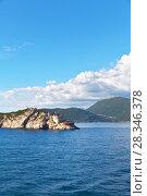 Купить «The old Fortress on the cape Ostro on the Prevlaka peninsula at the Bay of Kotor entrance, Adriatic Sea, Croatia», фото № 28346378, снято 8 октября 2016 г. (c) Виктория Катьянова / Фотобанк Лори