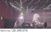Купить «Sarah McKenzie on international jazz day in Saint-Petersburg 2018, Russia», видеоролик № 28349074, снято 28 апреля 2018 г. (c) Ирина Мойсеева / Фотобанк Лори