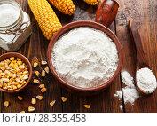 Купить «Starch and corn cob», фото № 28355458, снято 16 марта 2018 г. (c) Надежда Мишкова / Фотобанк Лори