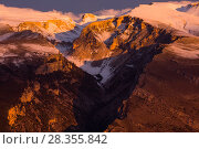 Купить «Sunrise over the Taranta valley in eastern Majella. Abruzzo, Central Apennines, Italy, October.», фото № 28355842, снято 29 мая 2020 г. (c) Nature Picture Library / Фотобанк Лори
