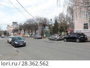 Купить «Ногинск, улице Трудовая дом 4», эксклюзивное фото № 28362562, снято 29 апреля 2018 г. (c) Дмитрий Неумоин / Фотобанк Лори