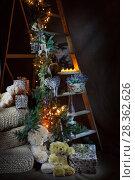 Christmas Still Live. Стоковое фото, фотограф Андрей Скат / Фотобанк Лори